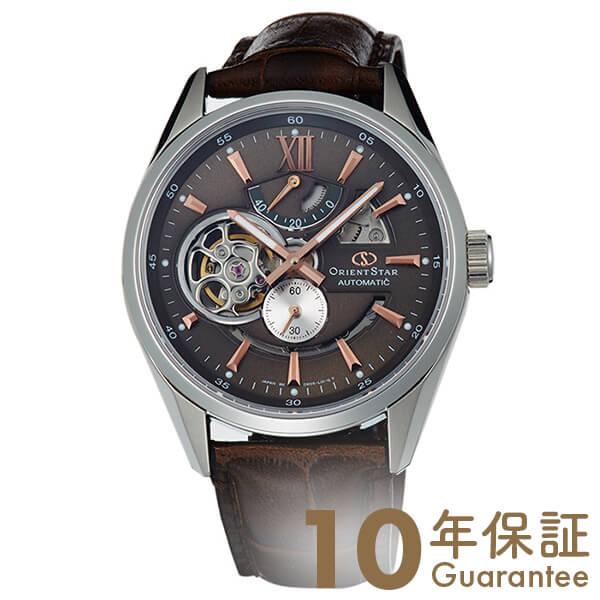 【5000円割引クーポン】オリエントスター ORIENT オリエントスター モダンスケルトン 機械式 自動巻き (手巻き付き) ブラウングレー WZ0201DK [正規品] メンズ 腕時計 時計【24回金利0%】