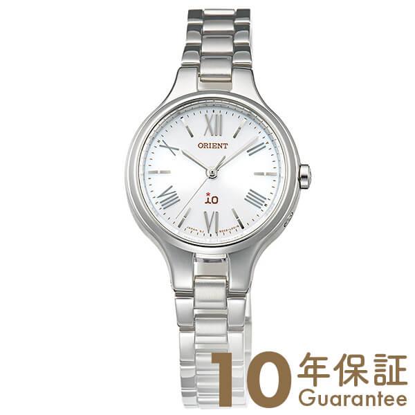 【300円割引クーポン】オリエント ORIENT イオ ナチュラル&プレーン ソーラー電波 ホワイト WI0111SD [正規品] レディース 腕時計 時計