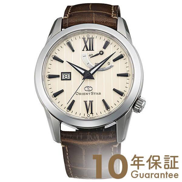 【2500円割引クーポン】オリエントスター ORIENTSTAR オリエントスター スタンダードパワーリザーブ 機械式 自動巻き (手巻き付き) アイボリー WZ0361EL メンズ 腕時計 時計【24回金利0%】