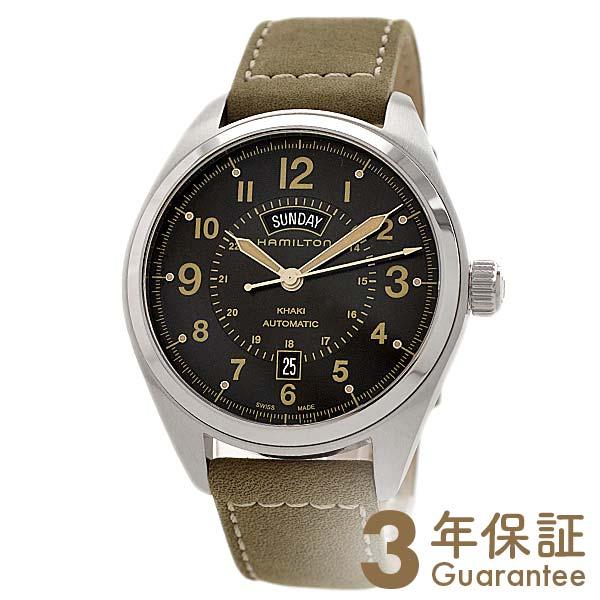 【29日は店内最大ポイント39倍!】 HAMILTON [海外輸入品] ハミルトン カーキ フィールドデイデイト H70505833 メンズ 腕時計 時計