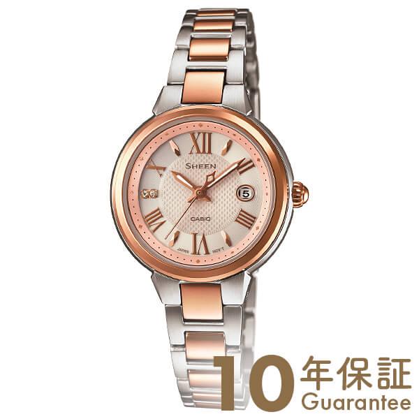 カシオ シーン SHEEN ソーラー SHE-4516SBZ-9AJF [正規品] レディース 腕時計 時計(予約受付中)