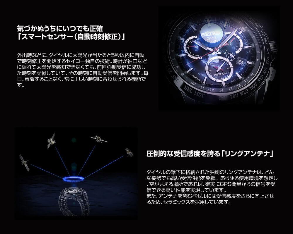 セイコー アストロン ASTRON 大谷翔平選手着用モデル GPS ソーラー電波 10気圧防水 SBXB041 [正規品] メンズ 腕時計 時計【36回金利0%】