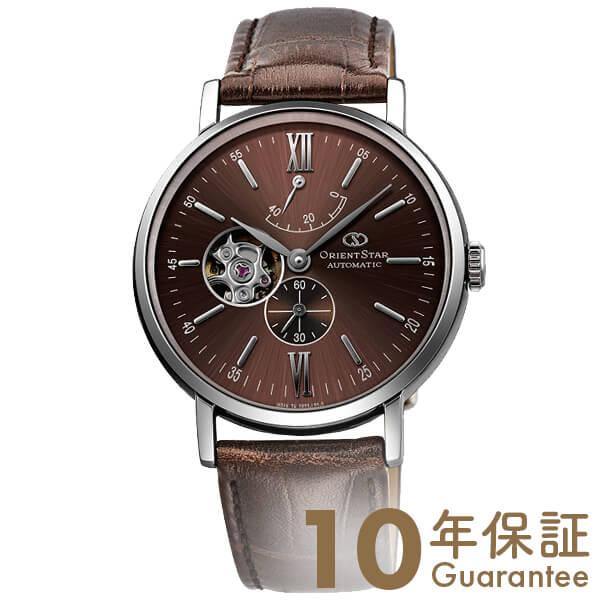 【4000円割引クーポン】オリエントスター ORIENT オリエントスター セミスケルトン 機械式 自動巻き (手巻き付き) ブラウン WZ0301DK [正規品] メンズ 腕時計 時計【24回金利0%】