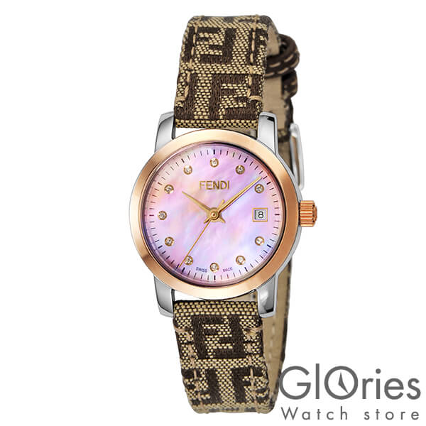 FENDI [海外輸入品] フェンディ ラウンドループ F218272DF レディース 腕時計 時計【新作】