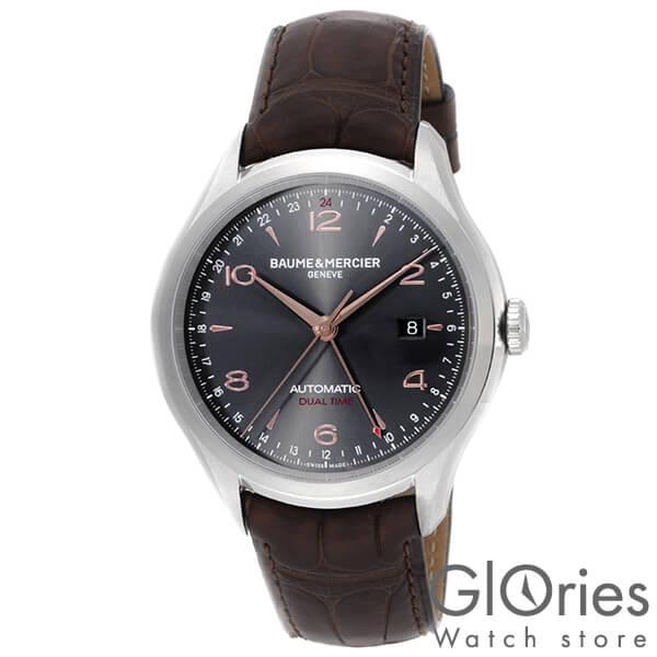 BAUME&MERCIER [海外輸入品] ボーム&メルシエ クリフトンデュアルタイム MOA10111 メンズ 腕時計 時計【新作】