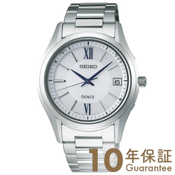 セイコー ドルチェ&エクセリーヌ DOLCE&EXCELINE 10気圧防水 ソーラー シルバー×シルバー SADZ185 [正規品] メンズ 腕時計 時計【36回金利0%】