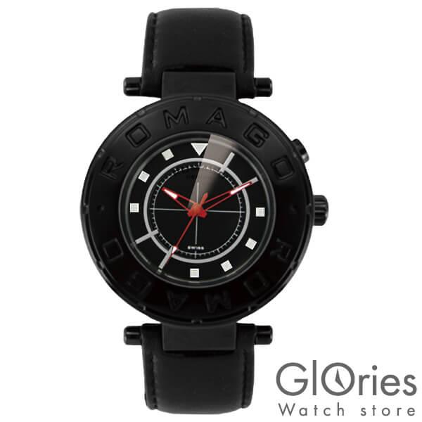 【3500円割引クーポン】ロマゴデザイン ROMAGODESIGN FLOW フロー RM002-0055ST-BK [正規品] メンズ&レディース 腕時計 時計
