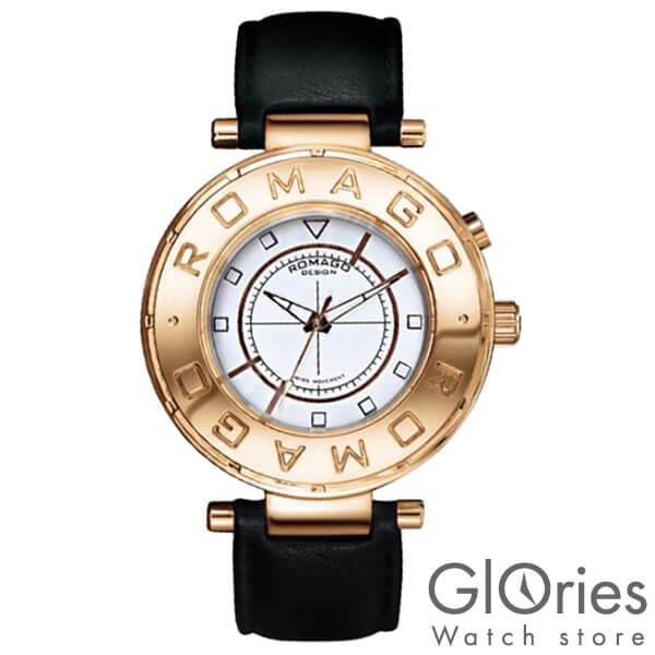 【3500円割引クーポン】ロマゴデザイン ROMAGODESIGN FLOW フロー RM002-0055ST-RG [正規品] メンズ&レディース 腕時計 時計