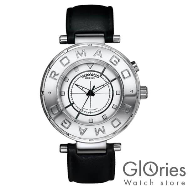 【3500円割引クーポン】ロマゴデザイン ROMAGODESIGN FLOW フロー RM002-0055ST-SV [正規品] メンズ&レディース 腕時計 時計【あす楽】