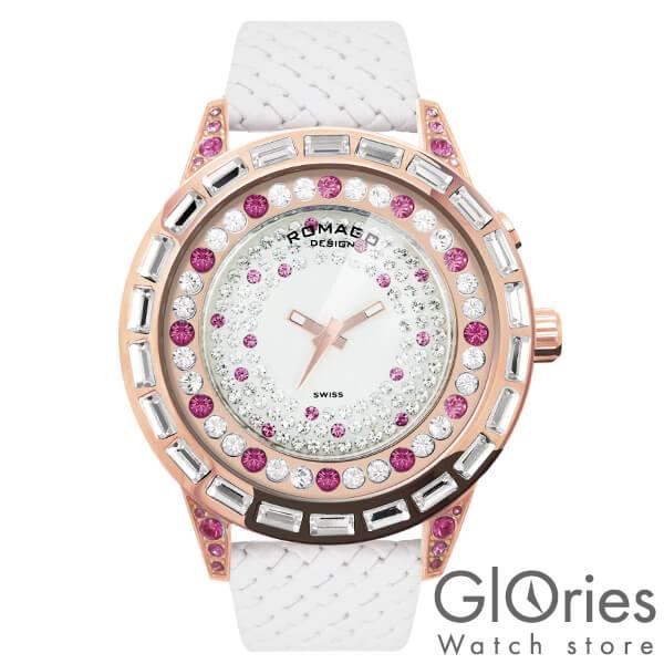 【4500円割引クーポン】ロマゴデザイン ROMAGODESIGN DAZZLE ダズル RM006-1477RG-PK [正規品] メンズ&レディース 腕時計 時計
