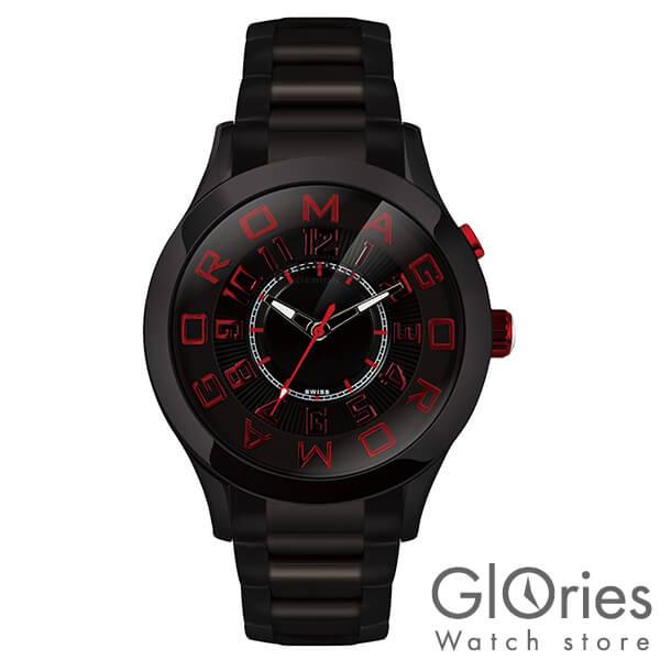 【4500円割引クーポン】ロマゴデザイン ROMAGODESIGN ATTRACTION アトラクション RM015-0162SS-BKRD [正規品] メンズ&レディース 腕時計 時計