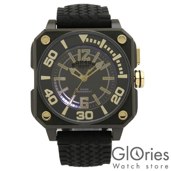 【4500円割引クーポン】ロマゴデザイン ROMAGODESIGN COOL クール RM018-0073PL-BK [正規品] メンズ&レディース 腕時計 時計
