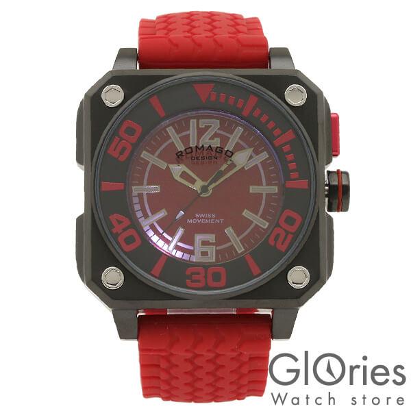 【4500円割引クーポン】ロマゴデザイン ROMAGODESIGN COOL クール RM018-0073PL-RD [正規品] メンズ&レディース 腕時計 時計