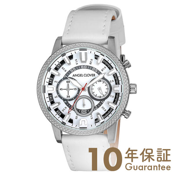 【29日は店内最大ポイント39倍!】 AngelClover エンジェルクローバー Ridge ホワイト RD44SWH-WH [正規品] メンズ 腕時計 時計【あす楽】