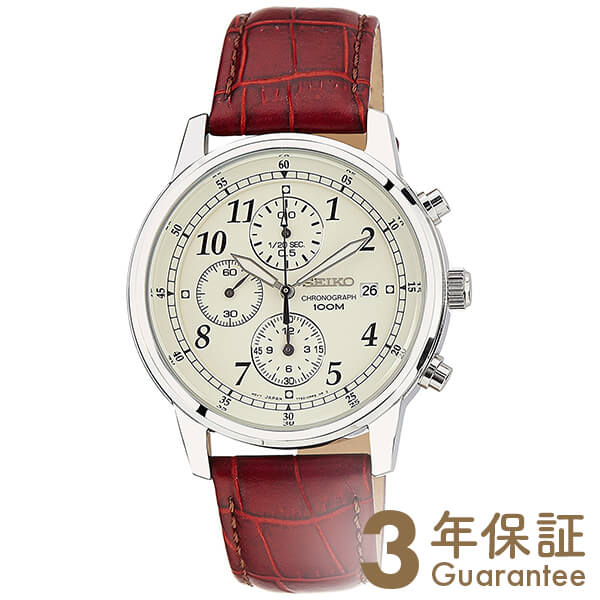 CHRONOGRAPH [海外輸入品] セイコー 逆輸入モデル クロノグラフ  SNDC31P1 メンズ 腕時計 時計【新作】