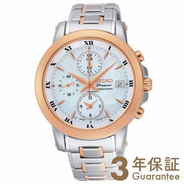 CHRONOGRAPH [海外輸入品] セイコー 逆輸入モデル クロノグラフ  SNDV70P1 レディース 腕時計 時計【新作】【あす楽】