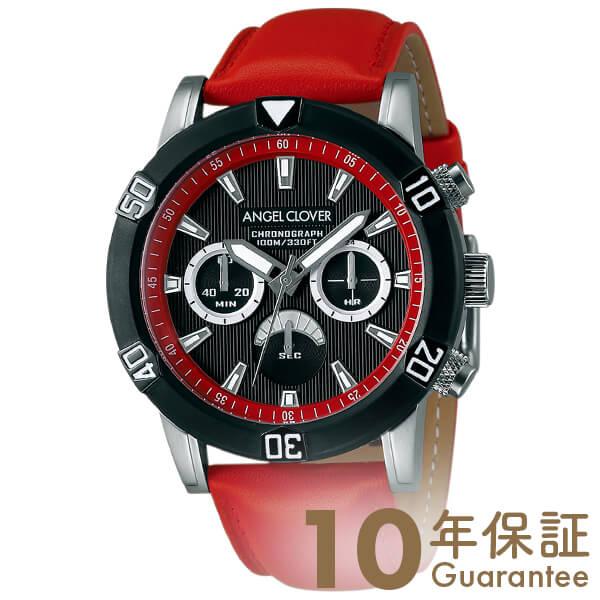 【29日は店内最大ポイント39倍!】 AngelClover エンジェルクローバー ブリオ BR43BBK-RE [正規品] メンズ 腕時計 時計