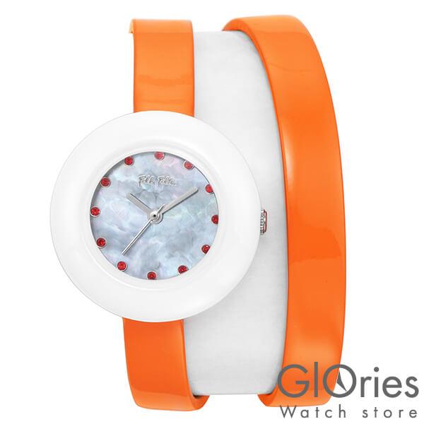 FolliFollie [海外輸入品] フォリフォリ HEART4HEARTTWINWATCH WF13F030SSO OR レディース 腕時計 時計【新作】