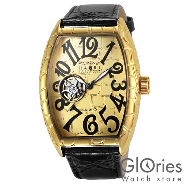 【4000円割引クーポン】ゾンネ SONNE ゾンネ×ハオリ 岩城滉一 コラボモデル H005YG-JP [正規品] メンズ 腕時計 時計
