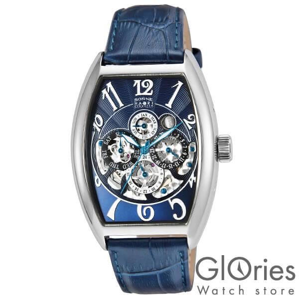 【3500円割引クーポン】ゾンネ SONNE ゾンネ×ハオリ 岩城滉一 コラボモデル H015SS-NV [正規品] メンズ 腕時計 時計