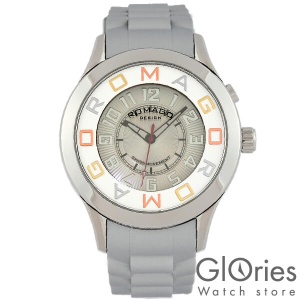 【3500円割引クーポン】ロマゴデザイン ROMAGODESIGN RM015-0162PL-SVSV [正規品] メンズ&レディース 腕時計 時計【あす楽】