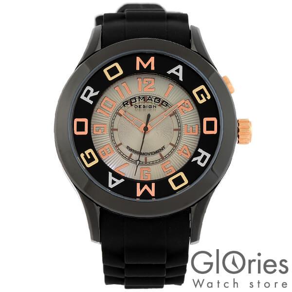 【3500円割引クーポン】ロマゴデザイン ROMAGODESIGN RM015-0162PL-BKBK [正規品] メンズ&レディース 腕時計 時計【あす楽】