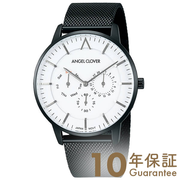 【29日は店内最大ポイント39倍!】 AngelClover エンジェルクローバー ゼロ 替えベルト付き ZE42BWH [正規品] メンズ 腕時計 時計