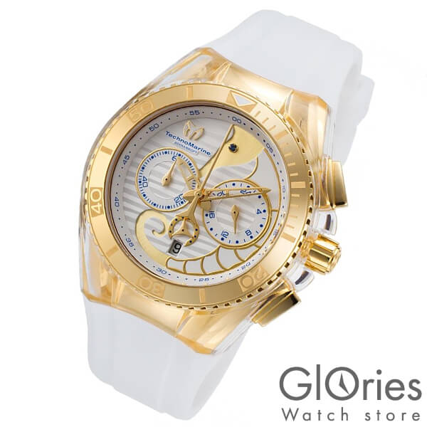 TechnoMarine テクノマリーン 替えベルト・ケースカバー付き TM115003 [輸入品] レディース 腕時計 時計