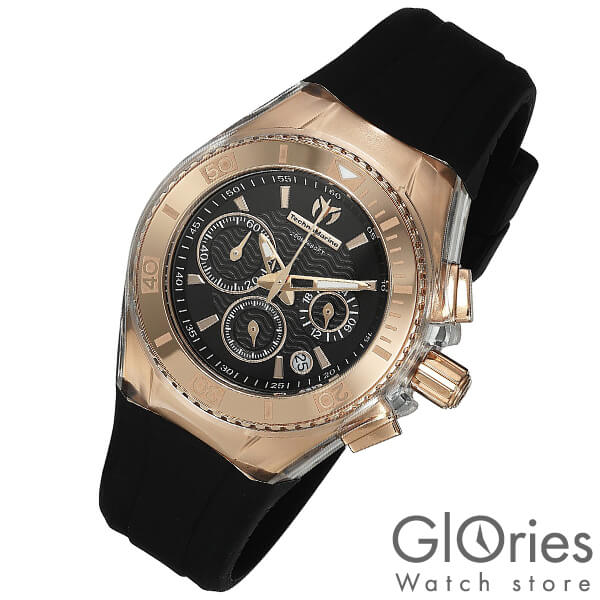 TechnoMarine テクノマリーン 替えベルト・ケースカバー付き TM115033 [輸入品] レディース 腕時計 時計