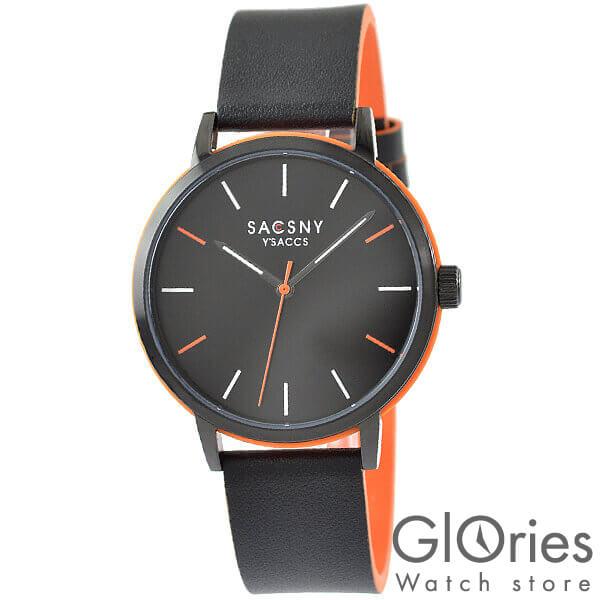 【100円割引クーポン】サクスニーイザック SACCSNYY'SACCS SYA15141B-BKBK [正規品] メンズ&レディース 腕時計 時計【あす楽】