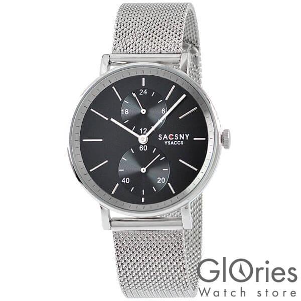 【100円割引クーポン】サクスニーイザック SACCSNYY'SACCS  SYA15147S-BK [正規品] メンズ&レディース 腕時計 時計