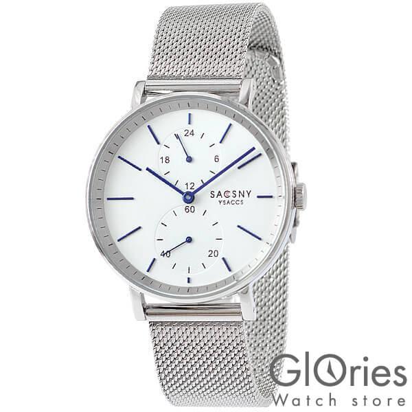 【100円割引クーポン】サクスニーイザック SACCSNYY'SACCS SYA15147S-SI [正規品] メンズ&レディース 腕時計 時計