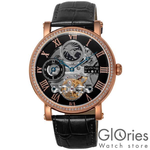【3500円割引クーポン】ゾンネ SONNE H013PGZ-BK [正規品] メンズ 腕時計 時計