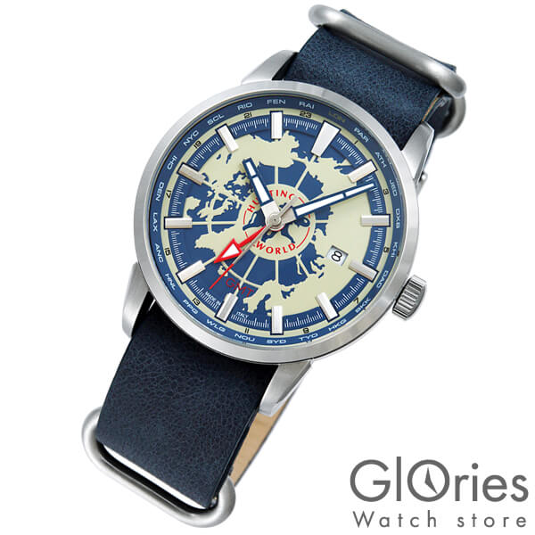 ハンティングワールド HUNTINGWORLD スーブニール HW027BL [正規品] メンズ 腕時計 時計【24回金利0%】