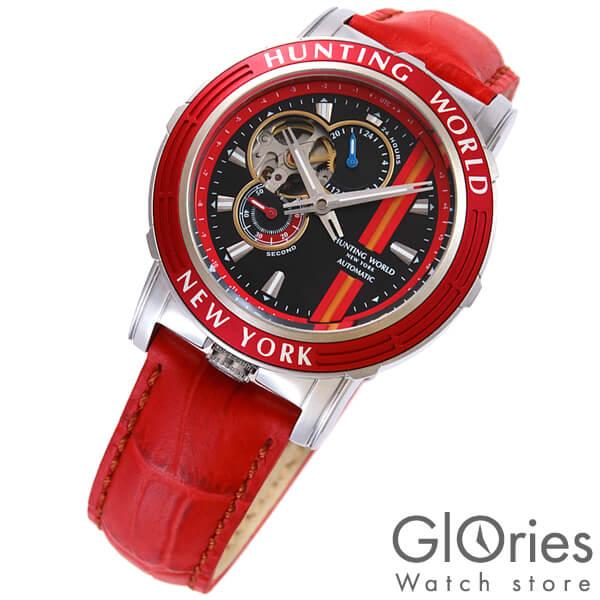 ハンティングワールド HUNTINGWORLD アディショナルタイム HW993RD [正規品] メンズ 腕時計 時計【24回金利0%】