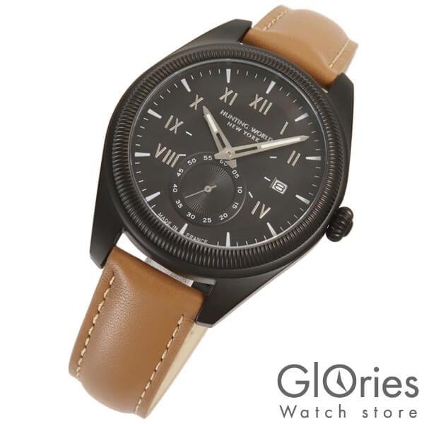 ハンティングワールド HUNTINGWORLD HWM002BKBR [正規品] メンズ 腕時計 時計【24回金利0%】