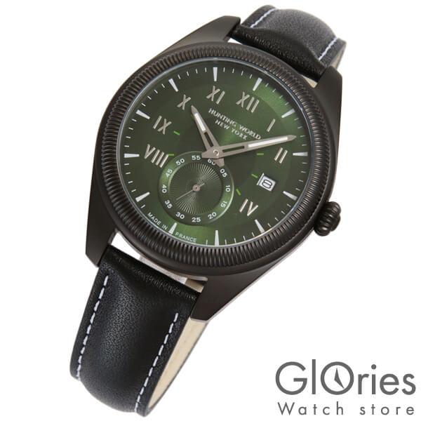 ハンティングワールド HUNTINGWORLD HWM002GRBK [正規品] メンズ 腕時計 時計【24回金利0%】