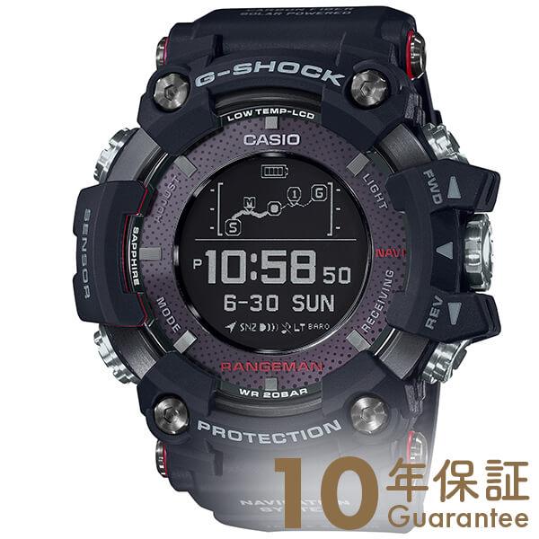 【最大3万円引クーポン 4月1日(月) 0:00~4月2日(火) 9:59】カシオ Gショック G-SHOCK Bluetooth搭載 GPR-B1000-1JR [正規品] メンズ 腕時計 時計 レンジマン GPS【36回金利0%】(予約受付中)