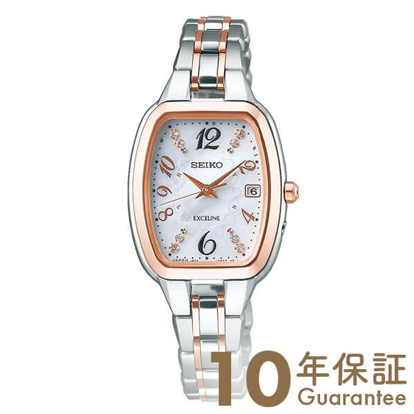セイコー ドルチェ&エクセリーヌ DOLCE&EXCELINE AUSEコラボ 500本限定 限定BOX付 ソーラー チタン SWCW138 [正規品] レディース 腕時計 時計