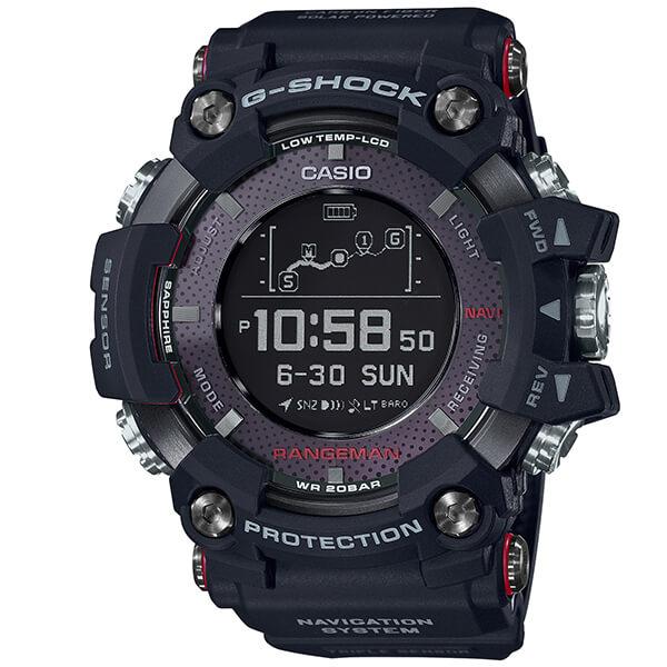 カシオ Gショック G-SHOCK Bluetooth搭載 GPR-B1000-1JR [正規品] メンズ 腕時計 時計 レンジマン GPS【36回金利0%】(予約受付中)(予約受付中)