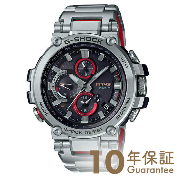 カシオ Gショック G-SHOCK Bluetooth搭載 ソーラー MTG-B1000D-1AJF メンズ