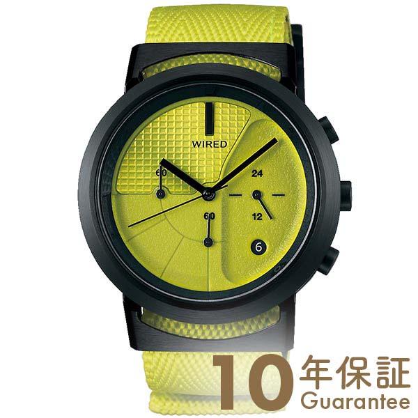 【29日は店内最大ポイント39倍!】 セイコー ワイアード 腕時計 メンズ 時計 防水性 SEIKO WIRED WW AGAT436 イエロー ステンレス クオーツ