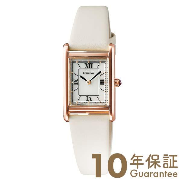 セイコー セレクション 腕時計 レディース ソーラー nano・universe 流通限定モデル SEIKO SELECTION 時計 STPR076 革ベルト 白 ホワイト