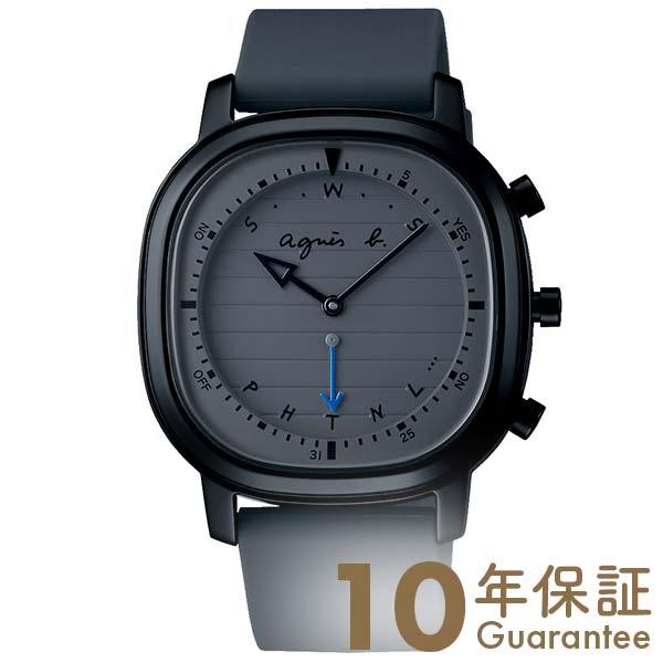 【29日は店内最大ポイント39倍!】 アニエスベー 時計 セイコー メンズ 限定500本 agnes b. オム FCRB701 腕時計 グレー Bluetooth 【あす楽】