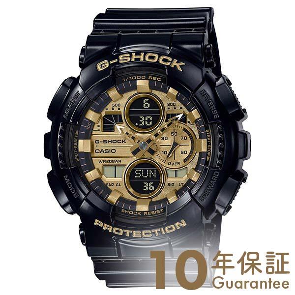 【29日は店内最大ポイント39倍!】 G-SHOCK Gショック ブラック アナログ デジタル メンズ Garish Color Series ワールドタイム GA-140GB-1A1JF カシオ 腕時計 時計 ジーショック CASIO