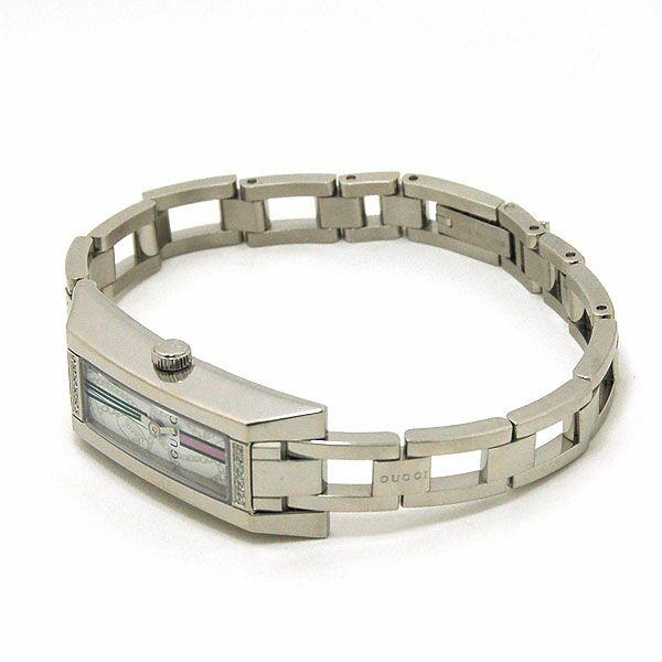 GUCCI [海外輸入品] グッチ バングルウォッチ 10Pダイヤチェーン柄 YA110506 レディース 腕時計 時計