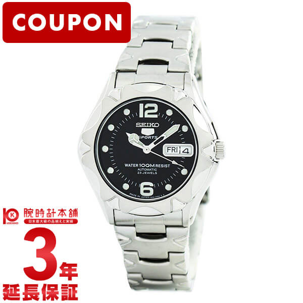 【ポイント最大36倍 3/29 23:59まで】SEIKO5 [海外輸入品] セイコー5 逆輸入モデル 5スポーツ 100m防水 機械式(自動巻き) SNZ453J1 メンズ 腕時計 時計