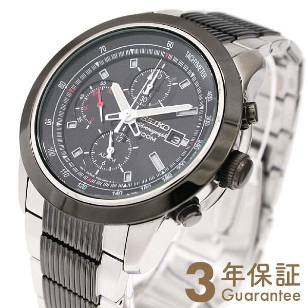 【29日は店内最大ポイント39倍!】 CHRONOGRAPH [海外輸入品] セイコー 逆輸入モデル クロノグラフ クォーツ 100m防水 SNAB19P1 メンズ 腕時計 時計
