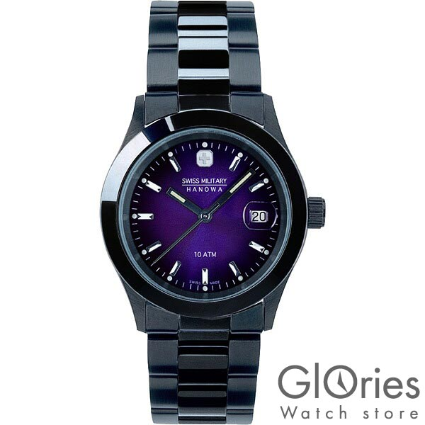 【2500円割引クーポン】スイスミリタリー エレガント SWISSMILITARY ブラック ML-189 [正規品] メンズ 腕時計 時計
