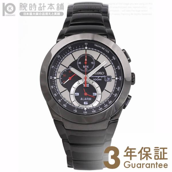 CHRONOGRAPH [海外輸入品] セイコー 逆輸入モデル クロノグラフ クロノグラフ アラーム機能 100m防水 SNAB35P1 メンズ 腕時計 時計